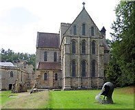 NZ1198 : Brinkburn Priory from the east by Andrew Curtis