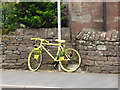 NY5733 : The yellow bikes of Langwathby (14) by Oliver Dixon