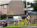 NY5733 : The yellow bikes of Langwathby (15) by Oliver Dixon