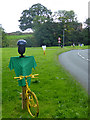 NY6137 : The yellow bikes of Melmerby (11) by Oliver Dixon