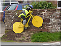 NY6137 : The yellow bikes of Melmerby (24) by Oliver Dixon
