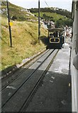 SH7782 : Great Orme tram at passing loop by Richard Sutcliffe