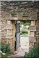 ST2428 : Gate into dutch garden by Bob Harvey