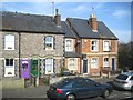 SU6371 : Colourful cottages, Church Street, Theale by Robin Stott