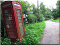 SO6051 : K6 phone box at Little Cowarne by Oast House Archive