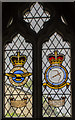 SK9205 : RAF Stained glass window, St Mary's church, Edith Weston by Julian P Guffogg