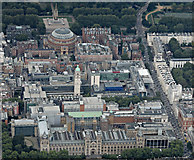 TQ2679 : The Natural History Museum and The Royal Albert Hall from the air by Thomas Nugent