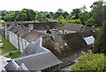 SN6122 : Inner courtyard from above, Newton House, Dinefwr Park by M J Roscoe