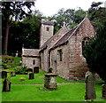 SO3700 : St Madoc's Church, Llanbadoc by Jaggery