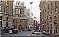 TQ3281 : City of London on a winter Sunday in 1983: King William Street from Bank by Ben Brooksbank