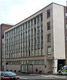 NZ2564 : Police headquarters, Market Street, Newcastle by Stephen Richards