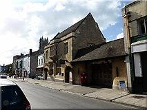 ST5038 : Glastonbury Post Office by PAUL FARMER
