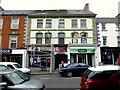 H4572 : Work along Market Street, Omagh by Kenneth  Allen