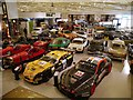 SP3554 : Inside the Heritage Motor Centre at Gaydon by David Dixon