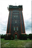 SK2622 : Winshill Water Tower by Oliver Mills