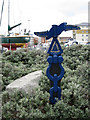 TQ6402 : National Cycle Network Milepost, Sovereign Harbour by Oast House Archive