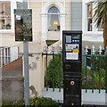 SH7882 : Parking Ticket Machine on The Parade by Gerald England