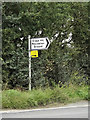 TQ7091 : Roadsign on the A129 Crays Hill by Adrian Cable