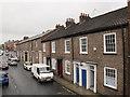 SE5951 : Terraced houses, Queen street, York by Stephen Craven