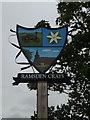 TQ7192 : Ramsden Crays Village sign by Geographer
