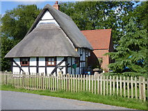 SO9559 : Shell Cottage, Shell Ford, Worcestershire by Jeff Gogarty