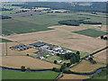 NS4565 : Blackstoun Farm from the air by Thomas Nugent