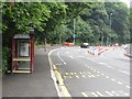 SE2437 : Bus stop on Abbey Road, Leeds by Graham Robson