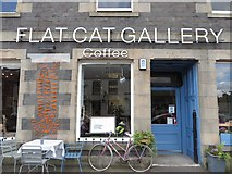 NT5247 : The Flat Cat Cafe, Lauder by James Wood