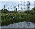 SP0989 : Washwood Heath gas holders by Mat Fascione