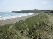 X4398 : The west side of the beach at Bunmahon by Jonathan Thacker