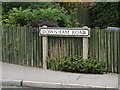 TQ7195 : Downham Road sign by Adrian Cable