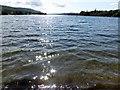 SD3197 : Sunlight on Coniston Water by Philip Platt