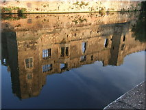 SK7954 : Reflections of Newark Castle by JThomas