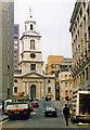 TQ3381 : St Giles Church, Bishopsgate, after major IRA bomb blast, 1993 by Ben Brooksbank