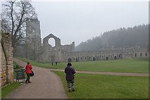SE2768 : Fountains Abbey by Stephen Darlington