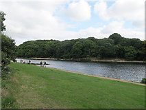 SE3337 : Eastern arm of Waterloo Lake, Roundhay Park by Stephen Craven