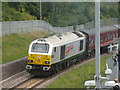 NT3461 : Class 67 'Diamond Jubilee' [67026] by M J Richardson