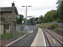 NT3461 : Gorebridge Station by M J Richardson