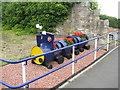 NT3172 : Floral train at Brunstane by M J Richardson