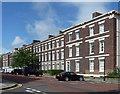 NZ2565 : 31-49 Carlton Terrace, Jesmond Road West, Newcastle by Stephen Richards