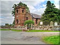 SJ4570 : The Parish Church of St Peter, Plemstall by David Dixon
