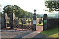 NS3308 : Kirkmichael Cemetery by Billy McCrorie