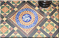 TM0160 : St Augustine, Harleston - Tiles by John Salmon