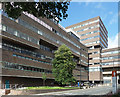 NZ2465 : Claremont Tower and Daysh Building, Claremont Road, Newcastle by Stephen Richards
