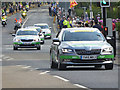 NY9363 : Guest cars, Aviva Tour of Britain by Oliver Dixon