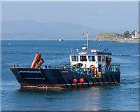 NM8529 : Salarus in Oban Bay by The Carlisle Kid