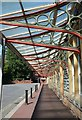 SX9063 : Brackets, Torquay station by Derek Harper