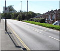 SZ5882 : Speed cameras sign, Sandown Road, Lake, Isle of Wight by Jaggery