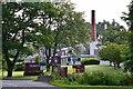 NN8649 : Dewar's distillery, Aberfeldy by Jim Barton