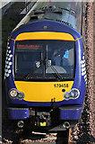 NT4836 : A northbound train at Galashiels by Walter Baxter